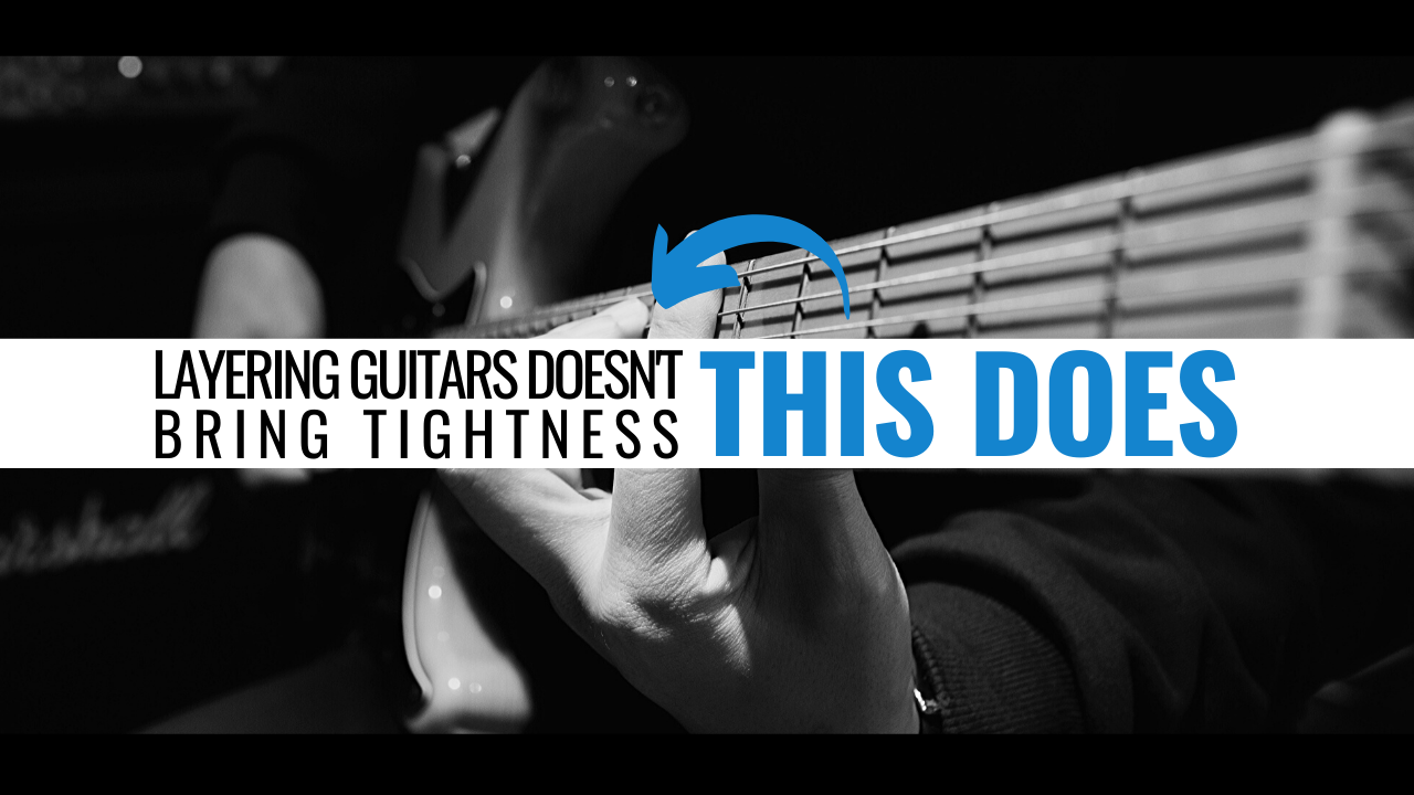layering guitars