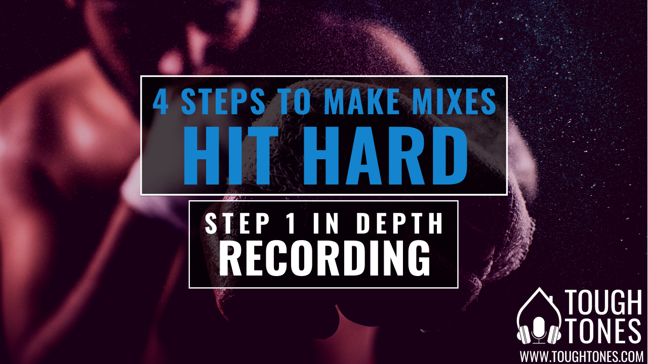 hard-hitting mix: recording tight guitar and bass tracks