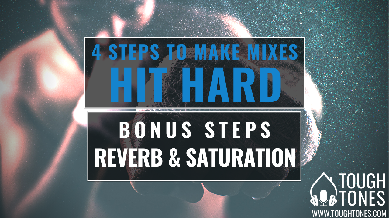 hard hitting mix snare reverb & saturation