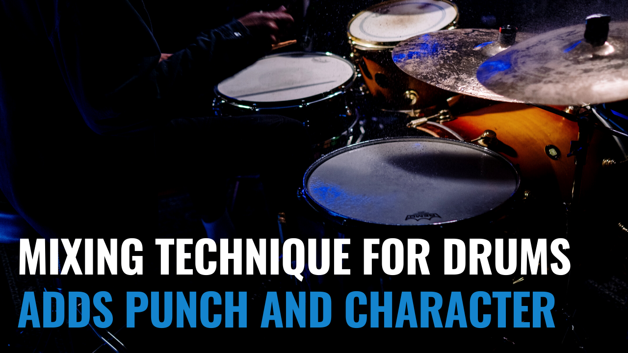 punch and character to the drums