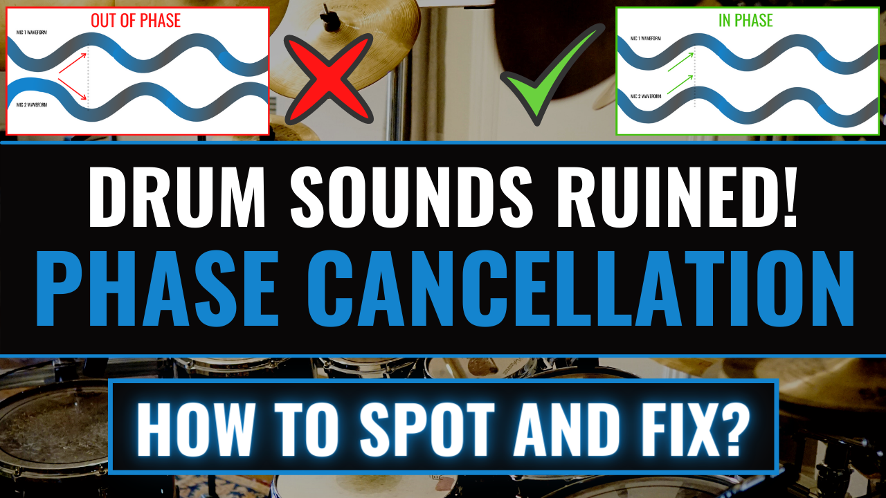 drums phase cancellation